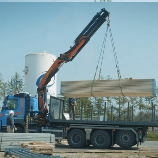 22 ton/meter kraanwagen