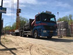 Transport van bouwmaterialen